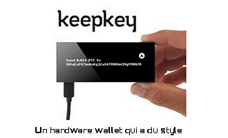 Keepkey hardware wallet test complet